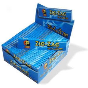 ZIG-ZAG Rolling Paper (Blue)