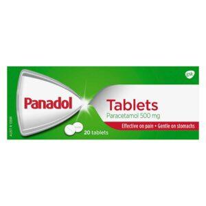 Panadol Paracetamol Tablets 500mg