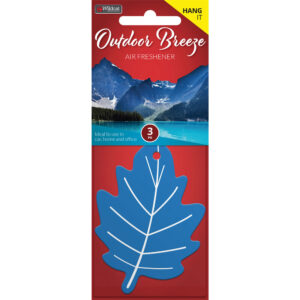 AIR FRESHENER LEAF OUTDOOR BREEZE
