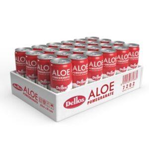 Delos Aloe Vera Juice (Pomegranate) 240ml